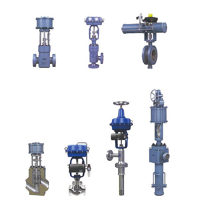 电动调节阀系列图片